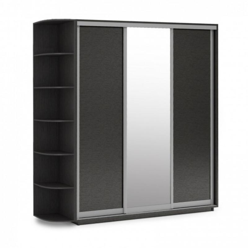 Трехдверный шкаф-купе Гарант 200х60х240 см.+Консоль 30 см