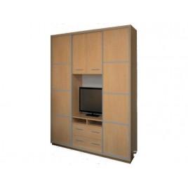 Шкаф купе под телевизор К21 210х55х220