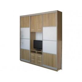 Шкаф купе под телевизор К21 мат 210х55х220