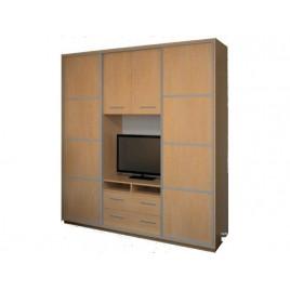 Шкаф купе под телевизор К23 230х55х220
