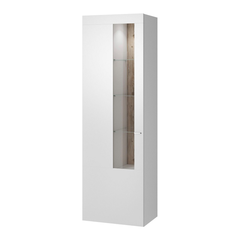 Витрина 1D Vertico белая