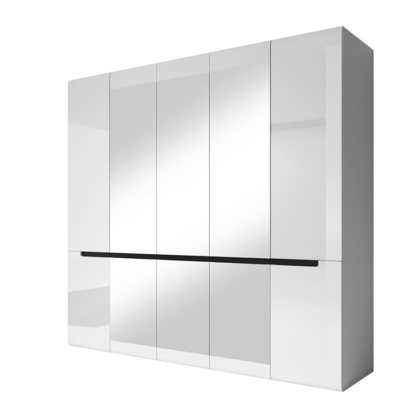Шкаф 5D Hektor белый