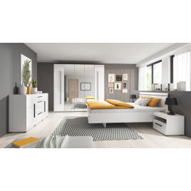 Спальня Tulsa белая