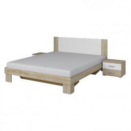 Кровать Vera дуб санома