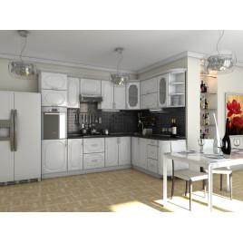 Кухня угловая  Эскиз  4