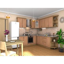 Кухня угловая  Эскиз 5