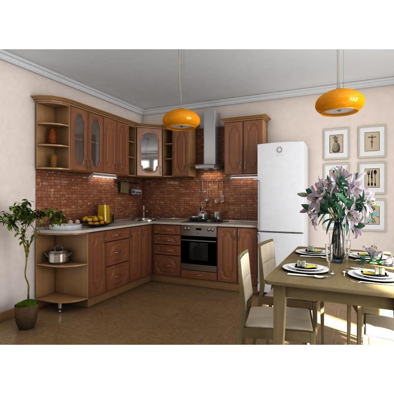 Кухня угловая  Эскиз 6