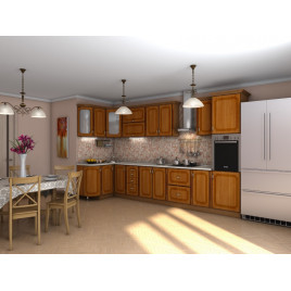 Кухня угловая  Эскиз 14