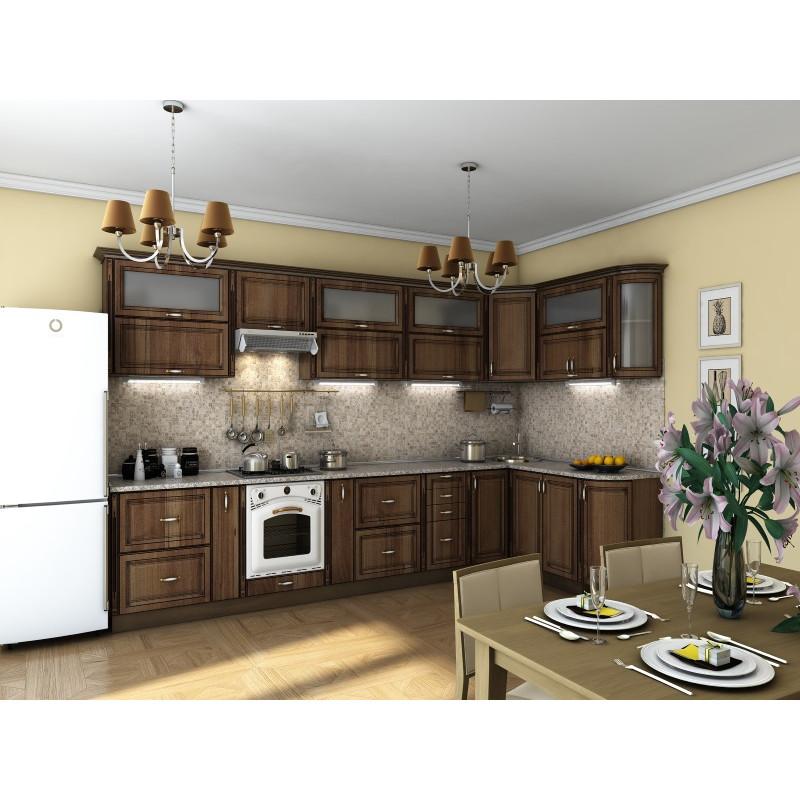 Кухня угловая  Эскиз 16