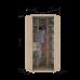 Угловой шкаф купе Гарант 110х110х240 см.