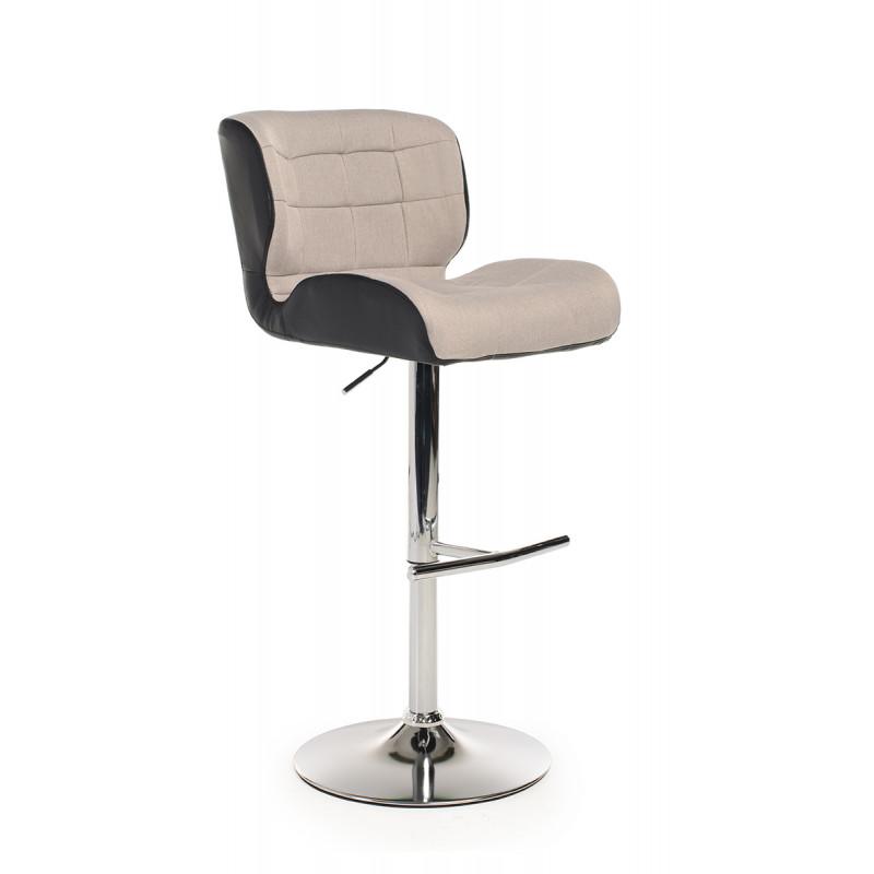 Барный стул стул B-75 серый+черный