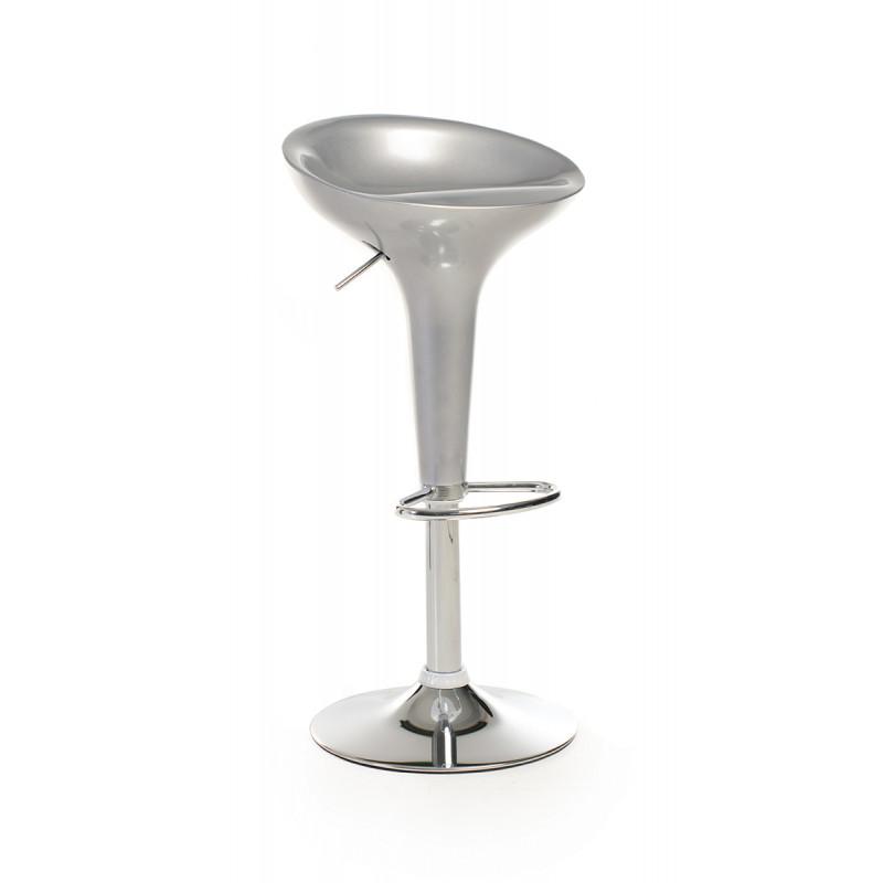 Барный стул B-01 серебрянный