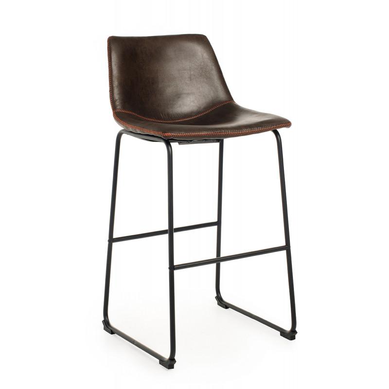 Барный стул B-14-2 коричневый
