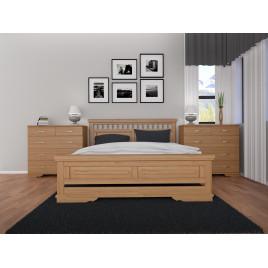 Деревянная кровать Атлант-13