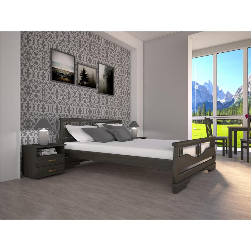 Деревянная кровать Атлант-3