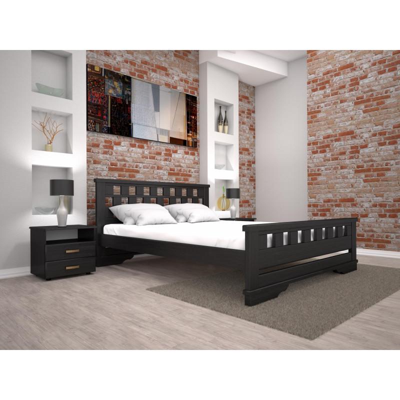 Деревянная кровать Атлант-9