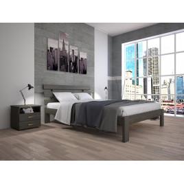 Деревянная кровать Домино-1