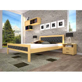 Деревянная кровать Модерн-6