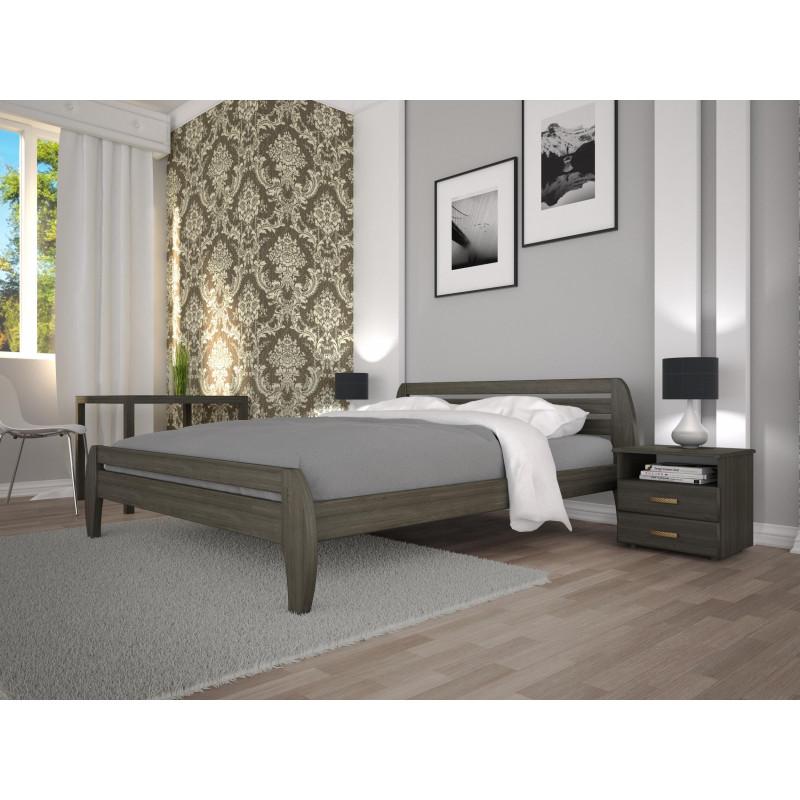 Деревянная кровать Новая-1