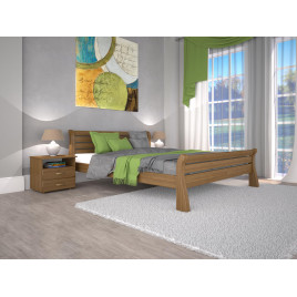 Деревянная кровать Ретро-1