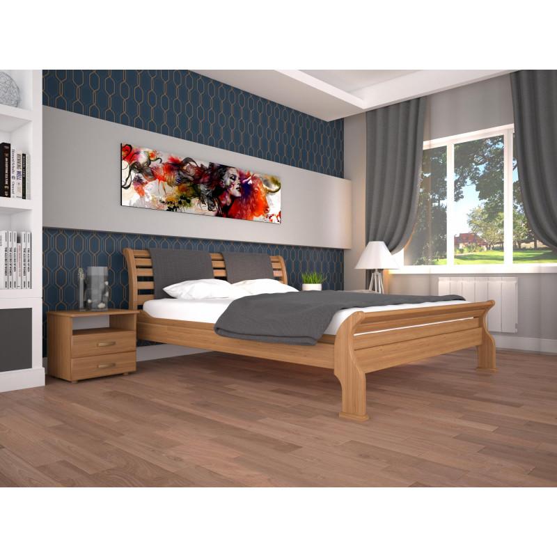 Деревянная кровать Ретро-2