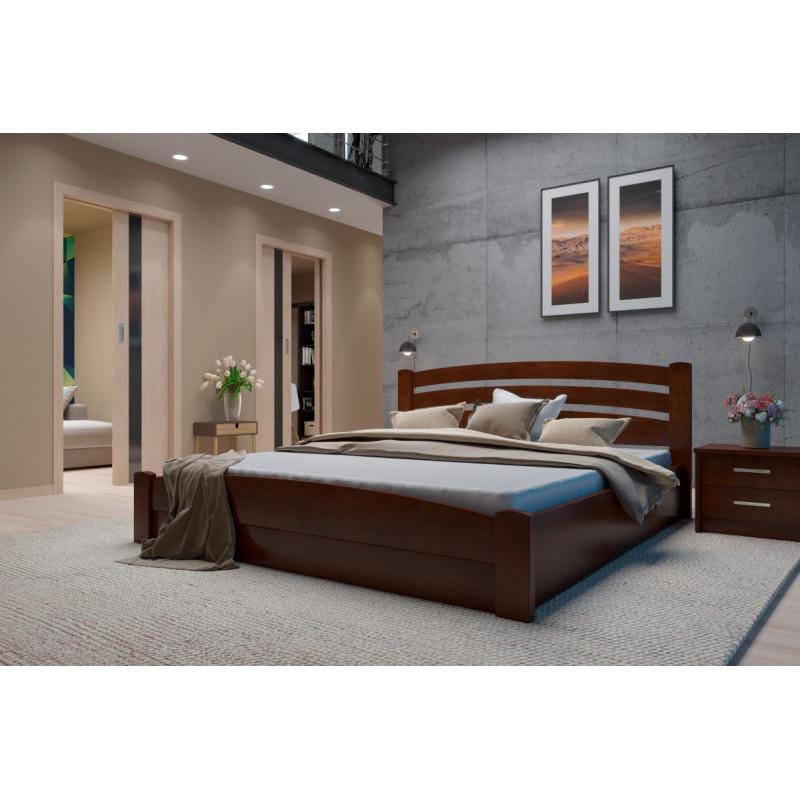 Деревянная кровать Мерлинда