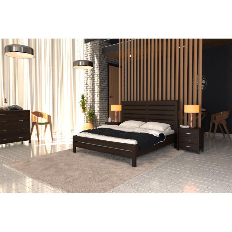 Деревянная кровать Эйдина
