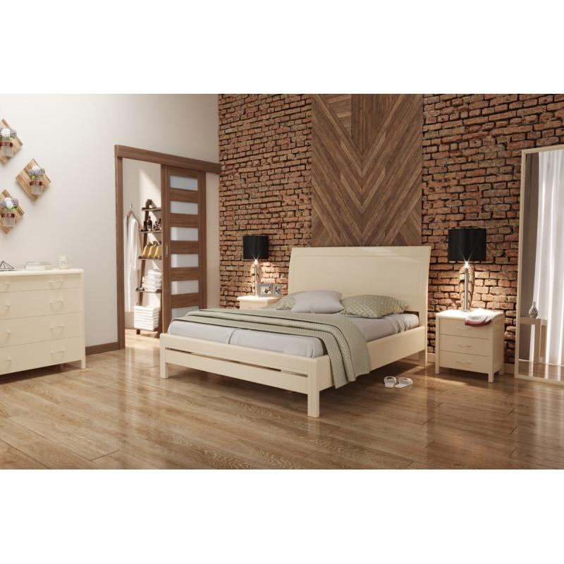Деревянная кровать Хэлла