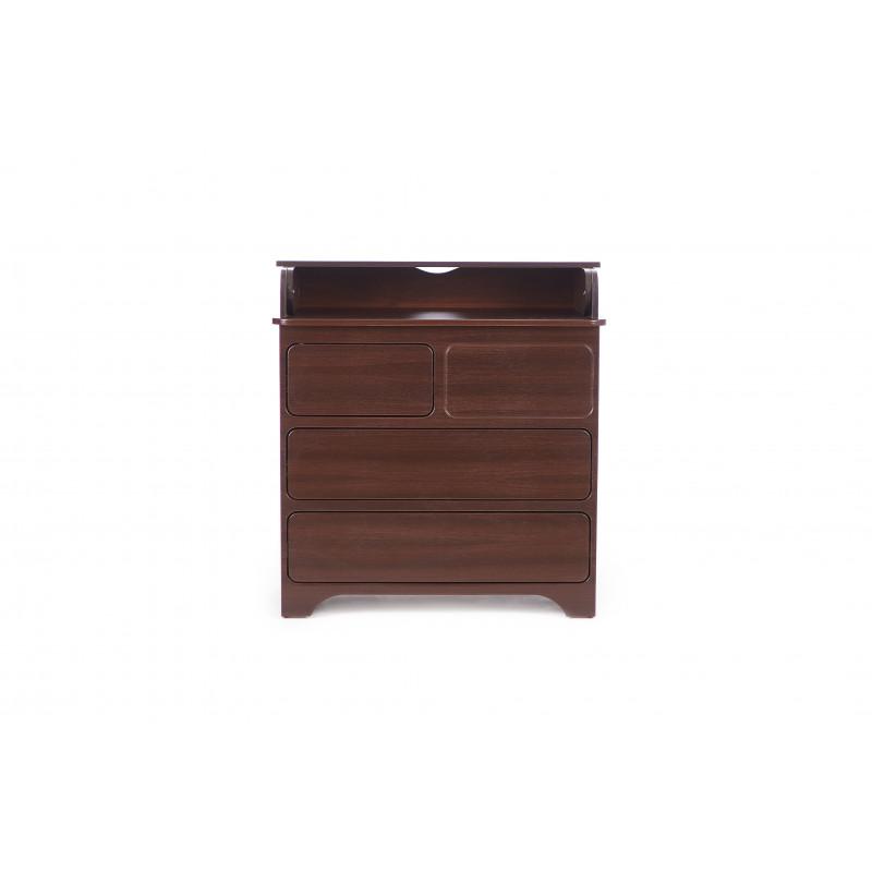 Комод пеленатор Тачь-Лач коричневый