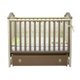 Кроватка детская ЛД3 капучино