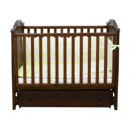 Кроватка детская ЛД3 орех