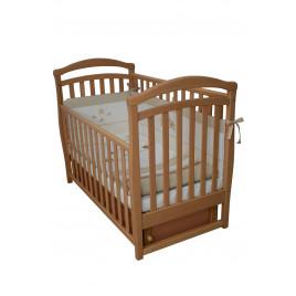 Кроватка детская ЛД6 бук