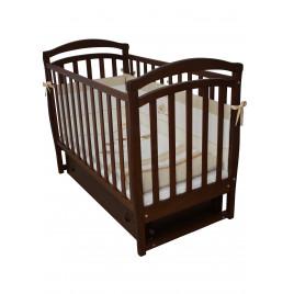 Кроватка детская ЛД6 орех