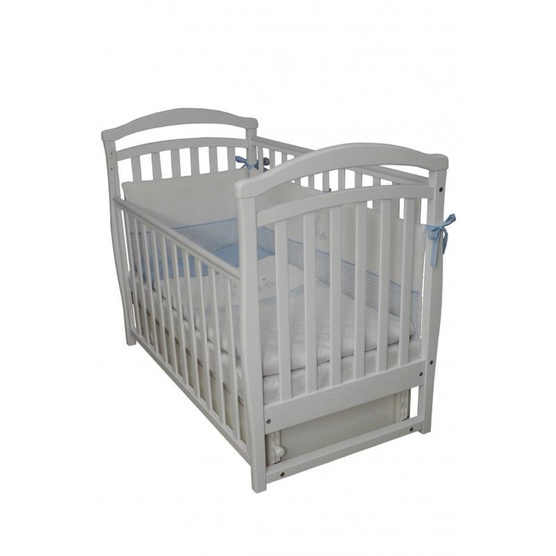Кроватка детская ЛД6 белый